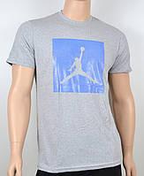 Мужская футболка Jordan 100% х/б 1905 меланж, фото 1