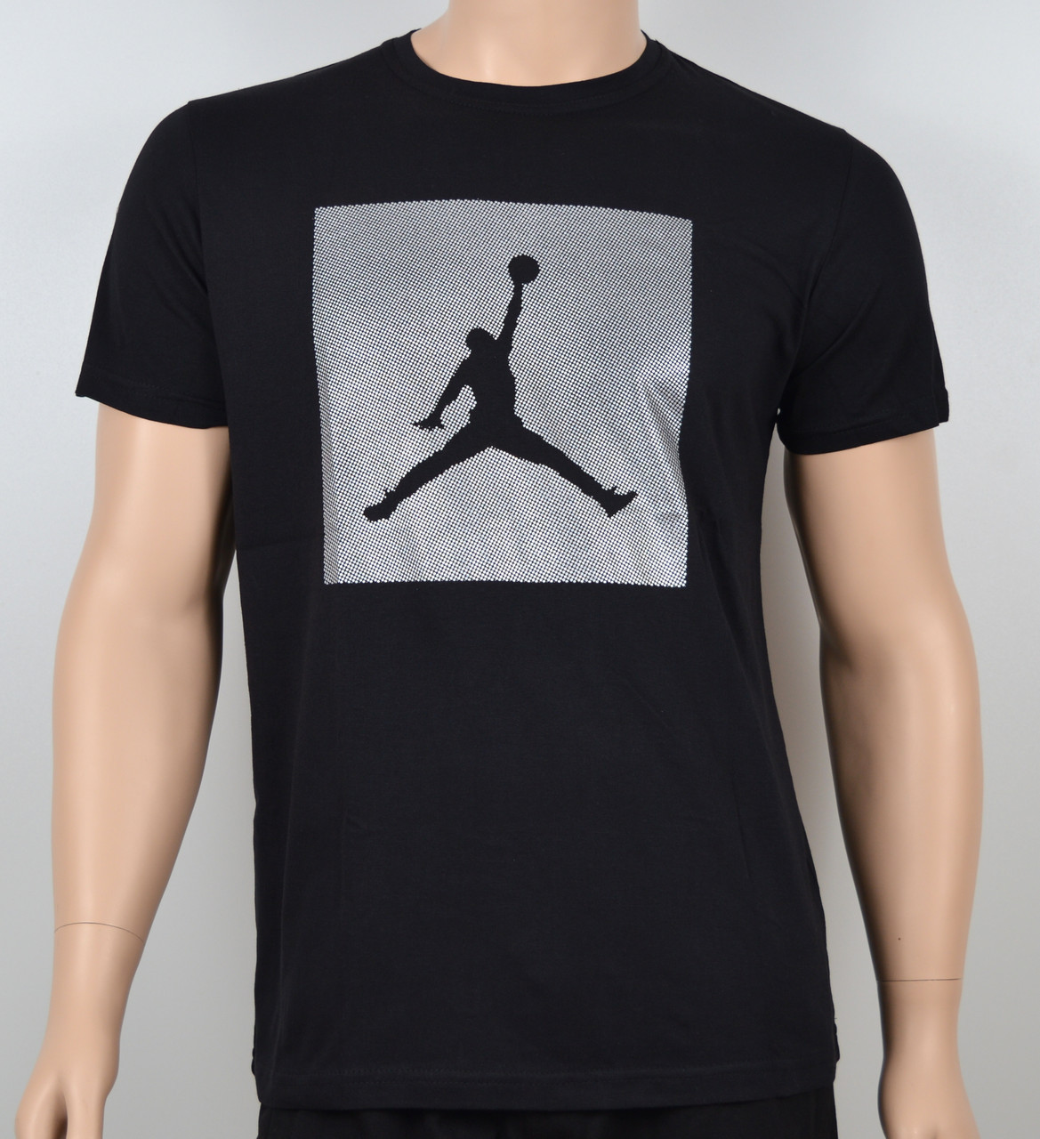 Мужская футболка Jordan 100% х/б 1905 черный