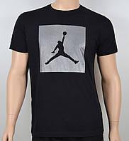 Мужская футболка Jordan 100% х/б 1905 черный, фото 1