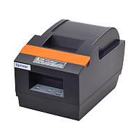 Чековый принтер Xprinter XP-Q90EC LAN+USB интерфейс с автообрезкой 58мм