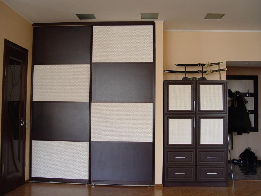 Двери раздвижные для шкафа-купе ДСП