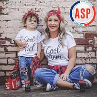 Футболки для всей семьи Family Look Фэмили лук футболки для мамы и дочки на заказ любая надпись логотип