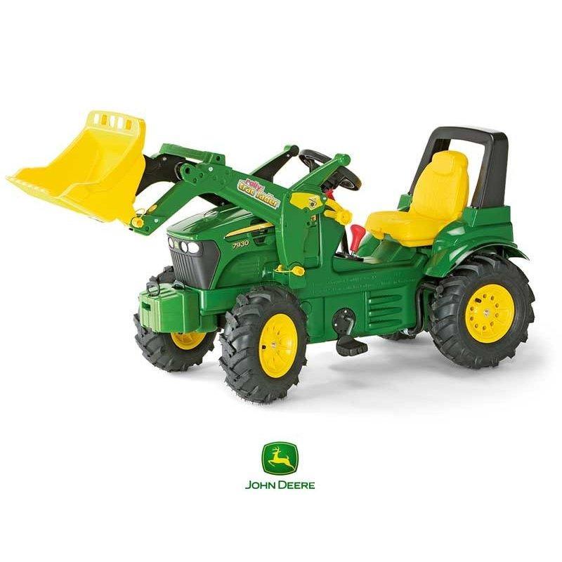 Детский трактор с ковшом  Rolly Toys 710126