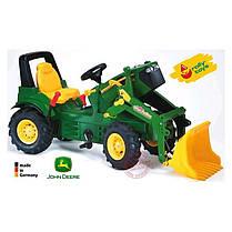 Детский трактор с ковшом  Rolly Toys 710126, фото 2