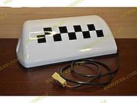 """Фонарь  """"Такси""""   белый шашка с проводом на магните, фото 1"""