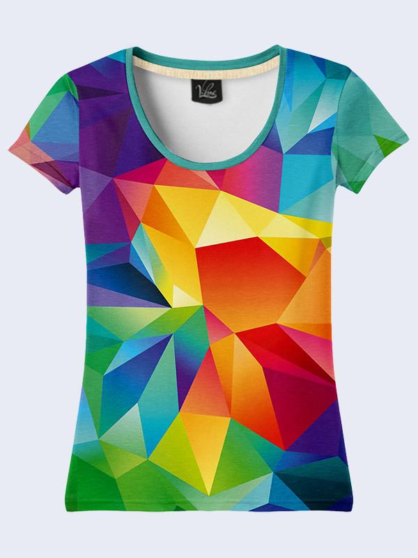Женская футболка ГЕОМЕТРИЯ