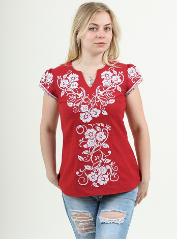 "Блуза - вышиванка "" Оленька "", фото 2"