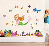 Наклейка для детской Ариэль, фото 1