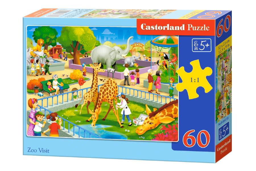 Пазлы Castorland Зоопарк В-066155