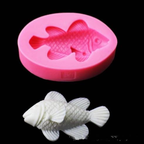 """Молд кондитерский силиконовый """"Рыбка"""" - размер 8*5,5см"""