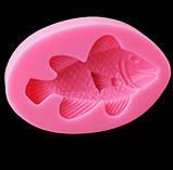 """Молд кондитерский силиконовый """"Рыбка"""" - размер 8*5,5см, фото 2"""