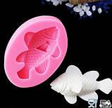 """Молд кондитерский силиконовый """"Рыбка"""" - размер 8*5,5см, фото 3"""