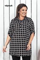 Рубашка женская в клетку, фото 1