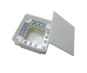 Коробка распределительная Bylectrica внутренняя с клеммами 95 х 95 х 53 мм (68-08-22)