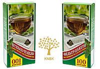 Фильтр пакеты для заваривания чая 13 см. (100шт. в упаковке) ЭКО., фото 1