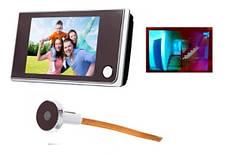 Видеоглазок дверной домофон 2МП ЖК 3.5 камера в глазок