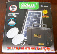 Солнечная система GDlite GD-8006 - аварийное освещение