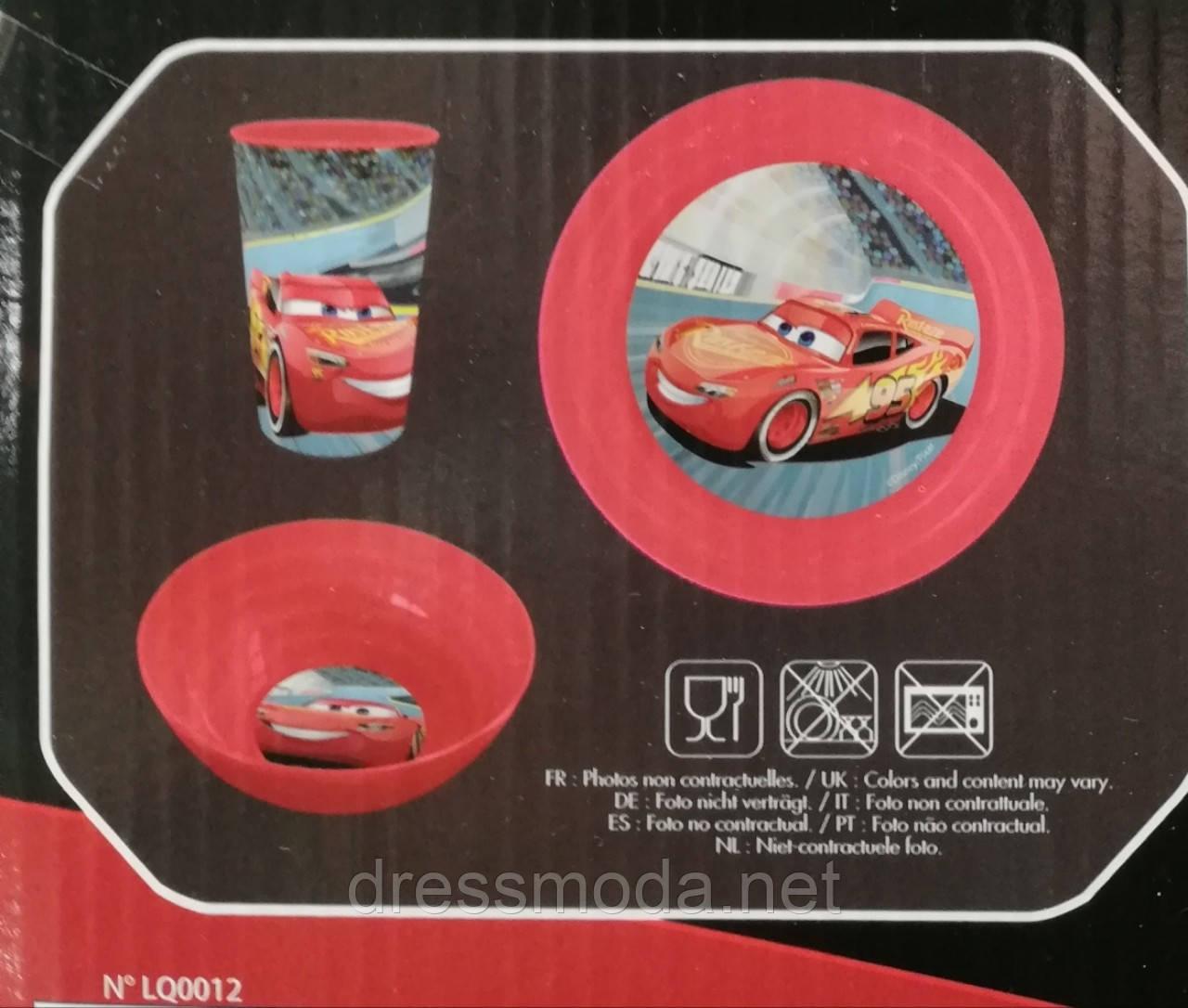Посуд для хлопчиків від Disney Cars