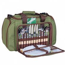 Набор для пикника Ranger PicRest (посуда на 4 персоны + сумка)