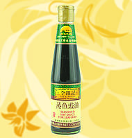 Соус соевый для морепродуктов, Seasoned Soy Sauce for Seafood, Lee Kum Kee,Китай, 410мл, Ч