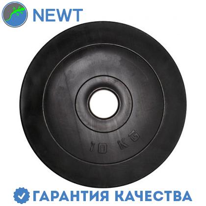 Диск  гантельный композитный в пластиковой оболочке Newt Rock Pro 10 кг, фото 2