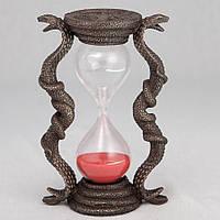 Статуэтка Veronese Песочные часы Кобры 15 см 75833A4