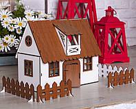 Будиночок для ляльок LOL Сільський Будиночок з меблями і світлом, фото 1