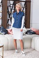 """Женский повседневный костюм """" Рубашка и юбка """" Dress Code, фото 1"""