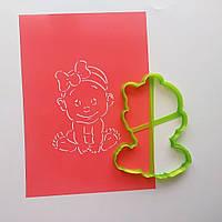 """3D формочки-вырубки для пряников """"Малышка"""""""