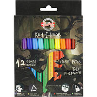 Фломастеры Koh-i-noor Dino набор 12 цветов картон 1002/12