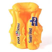 Детский надувной жилет для плавання Intex 58660
