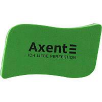 Губка магнитная для досок Axent Wave зеленая 9804-05-a
