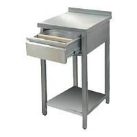 Стол под кофемашину из нержавеющей стали (нержавейка)
