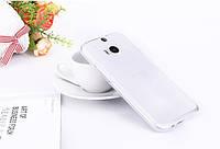 Чехол накладка для HTC One M8 белый