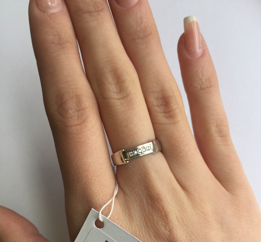 Серебряное кольцо Арт.857