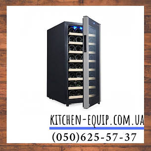 Холодильник для вина 120 л WKM120-1 GGM gastro (Германия), фото 2