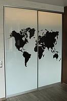Двери раздвижные для шкафа-купе с фотопечатью