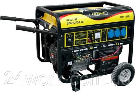 Бензиновый электрогенератор FORTE FG6500E