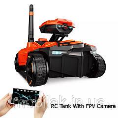Танк управляемый со смартфона с камерой 0.3 Мп