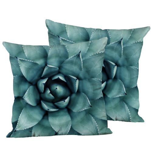 Подушка декоративная Суккулент 45х45 см (45IS_URB038)