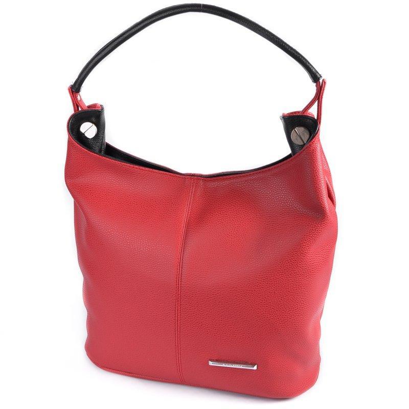 5b05cfe3cf97 Красная сумка-мешок М129-68/47 мягкая с ручкой на плечо: продажа ...