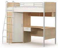 Кровать (матрас 90*200) + стол М-16-2