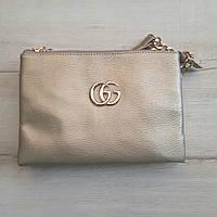 Клатч сумка на 2 змейки 23.5*16, фото 1