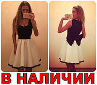 Короткое Вечернее Платье КУКОЛКА-Бант!