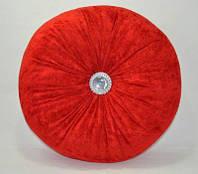 Подушка декоративная для дивана, цвет - красный