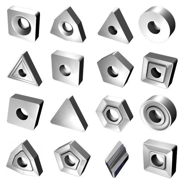 Пластины сменные многогранные т/с