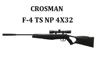 Пневматическая винтовка Crosman F-4 TS NP (4x32)