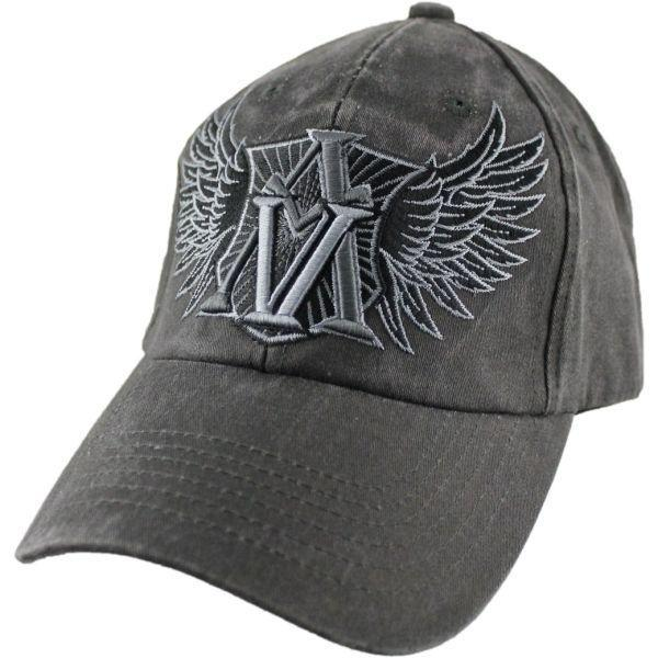 Кепка Eagle Crest American Valor Washed-5 DK Grey
