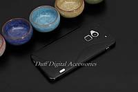Чехол накладка для HTC One MAX чёрный, фото 1