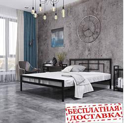 Ліжко металеве Квадро.